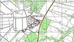 מפה של מטש עין השלושה