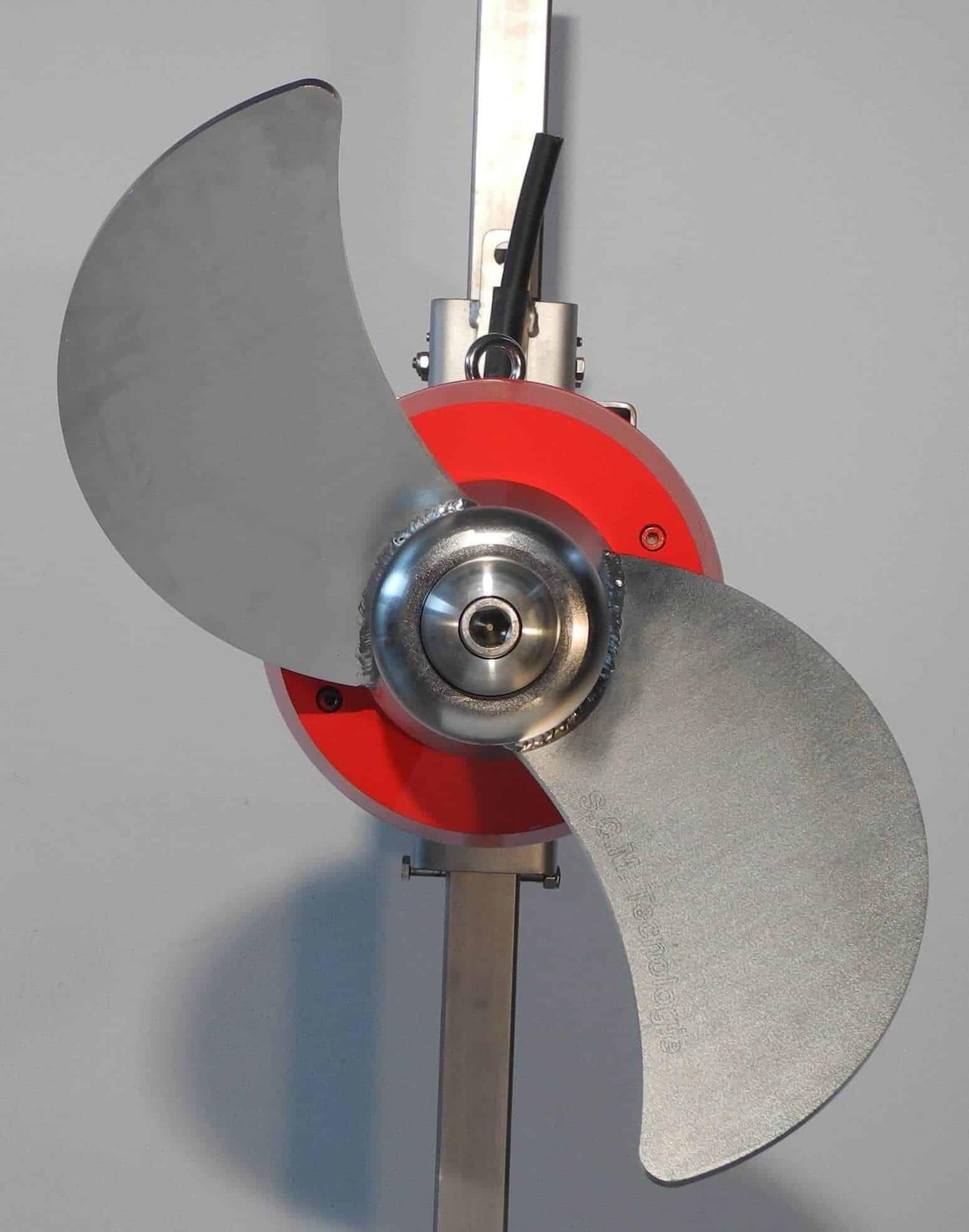 MX GIR - מערבלים של שפכים הנעה עם גיר