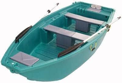 סירת פלסטיק לעבודה בברכות
