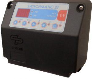 "switchmatic 2T פרסוסטט אלקטרוני למשאבות תלת פאזיות עד 5.5 כ""ס"