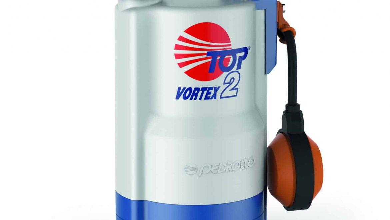 משאבה טבולה למים דלוחים TOP- VORTEX